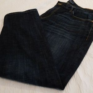 Mens Lucky Brand dark washed jeans